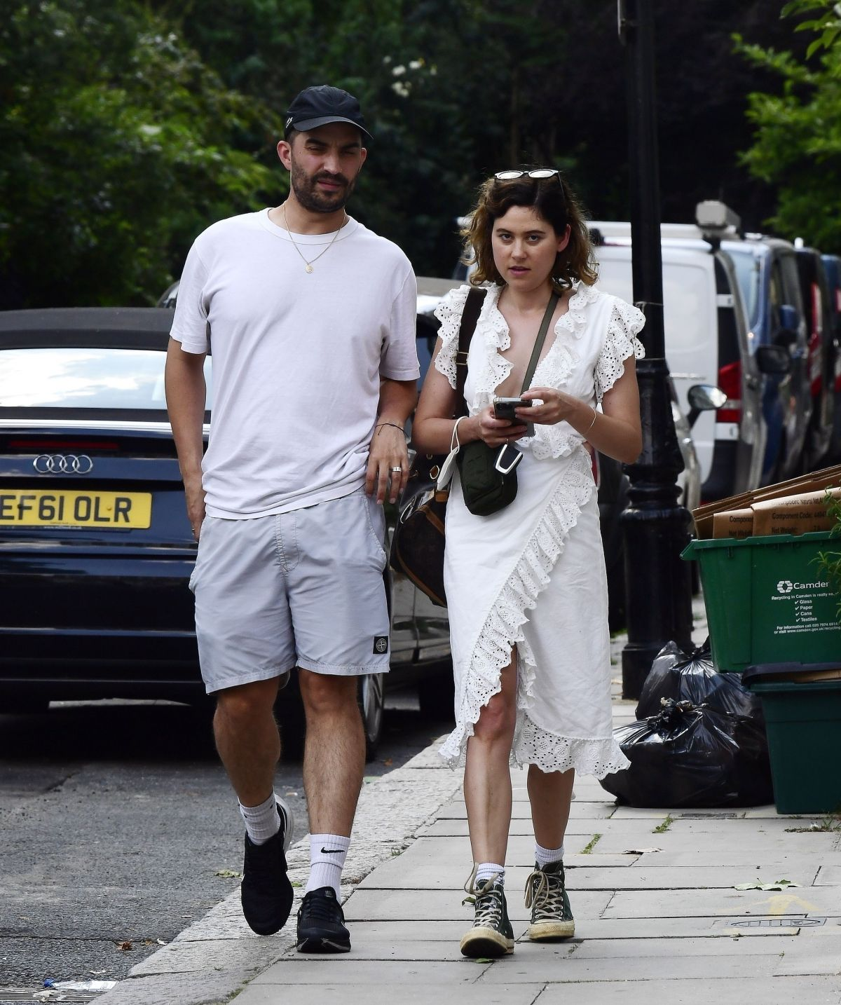 Eliza Doolittle Out and about with a mystery male friend ...