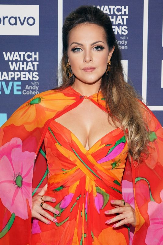 Elizabeth Gillies At Watch What Happens Live with Andy Cohen in NYC
