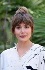 Elizabeth Olsen At a photocall for the Filming Italy Festival Day 1 in Santa Margherita di Pula, Italy