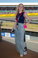 Ellie Bamber At F1 Perfumes Experience at British Grand Pix in Silverstone
