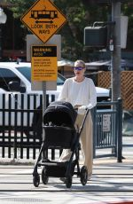 Elsa Hosk Looks chic for her morning coffee run in Los Angeles