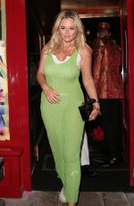 Emily Atack Outside The Ivy Asia Launch in Chelsea, London