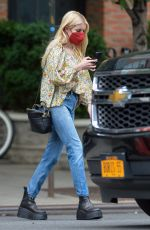Emma Roberts Is pictured stepping out in New York