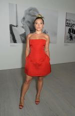 Florence Pugh Attending the Studio 7 By Cartier Private View at The Saatchi Gallery in London