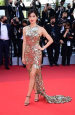 """Gemma Chan Attends """"oss 117: from africa with love"""" final screeing & closing ceremony red carpet"""