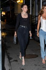 Gigi Hadid Heads out to celebrate her girlfriends birthday in New York