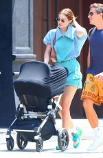 Gigi Hadid Out with her daughter in NYC