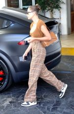 Hailey Baldwin Bieber Steps out to handle business in Beverly Hills