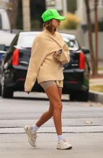 Hailey Baldwin Heading to Pilates in West Hollywood