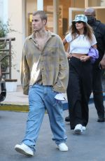 Hailey Bieber (Baldwin) Out for a sushi dinner date with her hubby Justin Bieber in West Hollywood