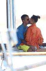 Hailey Bieber (Baldwin) Puts on a rather amorous display spotted on romantic getaway on the Greek island of Milos