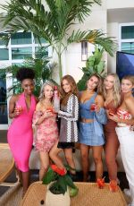 Haley Kalil At Sports Illustrated Swimsuit Edition launch event in Hollywood