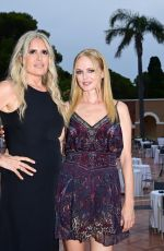 Heather Graham Attends the Filming Italy Festival at Forte Village Resort in Santa Margherita di Pula, Italy