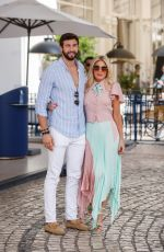 Hofit Golan Is spotted at the Martinez Hotel during the 74th Cannes Film Festival