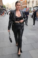 Imogen Thomas Flashes bra at the Fast and Furious screening in Leicester Square at Vue Cinema
