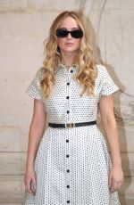 Jennifer Lawrence At Dior Haute Couture Fall/Winter 2021/2022 Show in Paris
