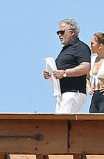 Jennifer Lopez Flashes her incredible abs in a sports bra in Holmby Hills