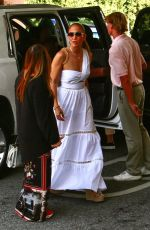 Jennifer Lopez Out for a family dinner in Beverly Hills