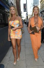 Jess & Eve Gale Arriving at Jess and Eve Gale