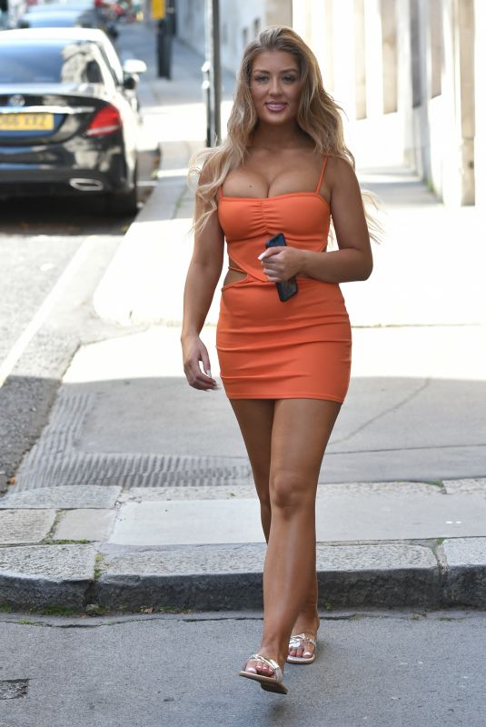 Jess & Eve Gale Seen heading to a pool party in Battersea, London