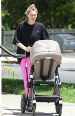 Jessica Hart Keeps a busy afternoon in Los Angeles
