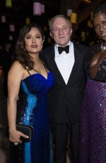 Jodie Turner-Smith & Salma Hayek At Kering Women In Motions Awards Dinner at Cannes