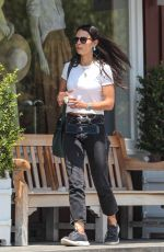 Jordana Brewster Out with her son Rowan for a sweet treat in Brentwood