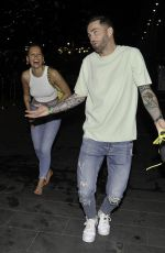 Jordanne Duggan Leaves the free bar at Freedom Party in Manchester