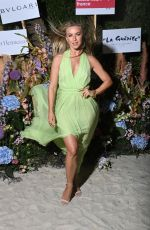 Julianne Hough At The Naked Heart France Riviera Dinner at the 74th Annual Cannes Film Festival