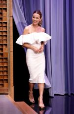 Kate Beckinsale At The Tonight Show Starring Jimmy Fallon in NYC