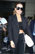 Kate Beckinsale Leaving The Ritz-Carlton Hotel in NYC