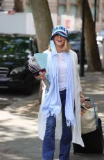 Kate Garraway Wears a one on England hat at Smooth radio in London