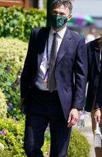 Kate Middleton Official visit of Wimbledon at The All England Lawn Tennis and Croquet Club in London