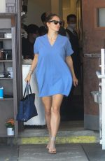 Katharine McPhee Have lunch at Il Pastaio in Beverly Hills