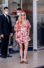 Katheryn Winnick Spotted at the Martinez Hotel during the 74th Cannes Film Festival