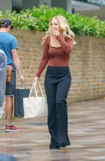Katie Piper Is all smiles in London