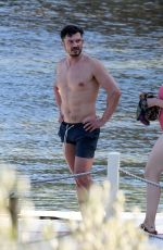 Katy Perry & Orlando Bloom Share some sweet PDA while enjoying a holiday in Bodrum, Turkey
