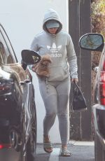 Katy Perry Seen back at work as she is seen leaving her office in West Hollywood