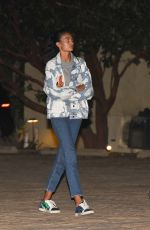 Kelly Gale Arriving at Nobu for a late dinner date in Malibu
