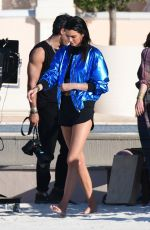 Kendall Jenner Doing a photoshoot in Saint-Tropez