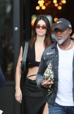 Kendall Jenner Leaving her hotel in Paris