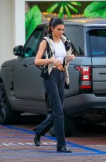Kendall Jenner Seen at Lucky