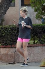 Kesha Steps out for some exercise in Los Angeles
