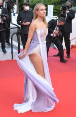 Kimberley Garner Attends a screening of France at the Cannes Film Festival, France