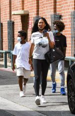 Kimora Lee Simmons brings her kids out for a sweet treat in sunny Beverly Hills
