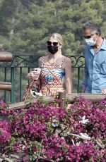 Kitty Spencer And Michael Lewis are spotted out on their honeymoon on the idyllic Amalfi Coast