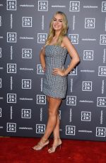 Laura Woods Attends the Dazn x Matchroom VIP Launch Event at Kings Cross in London