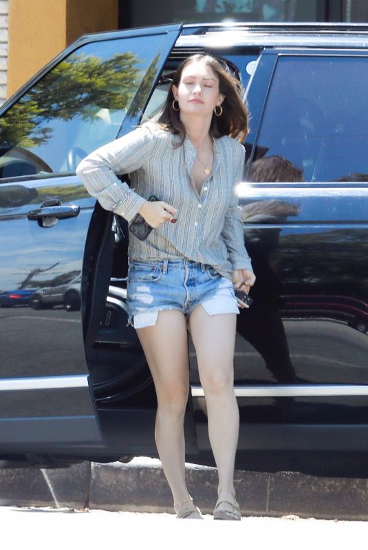 Lauren Parsekian Steps out with her mini-me Story Annabelle Paul for mother-daughter shopping in Los Angeles