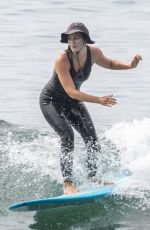 Leighton Meester Hits the Friday waves in Malibu