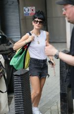 Lily Allen Arrives at the BBC Studios to attend